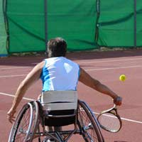 Wheelchair Sports Playing Sport In A